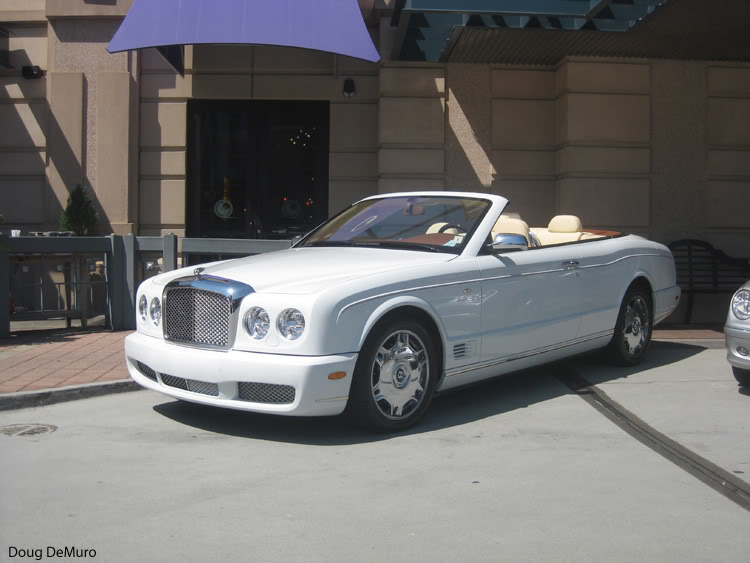 BENTLEY AZURE CONVERTIBLE white