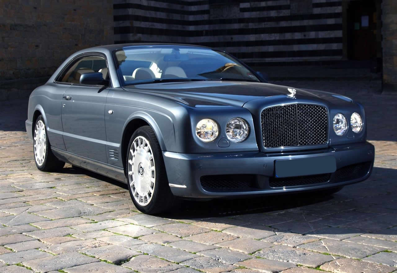 BENTLEY BROOKLANDS blue