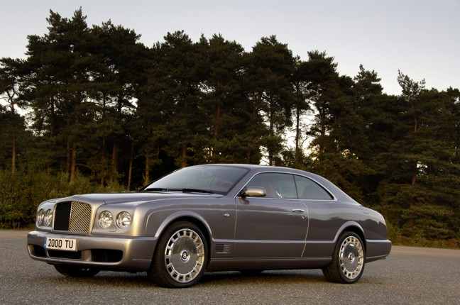 BENTLEY BROOKLANDS silver