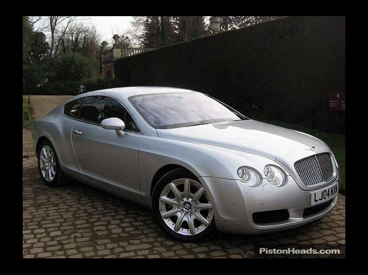 BENTLEY CONTINENTAL 6.0 brown