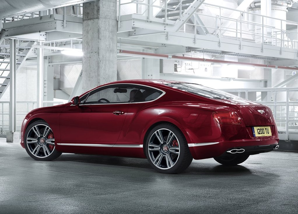 BENTLEY CONTINENTAL 6.0 red