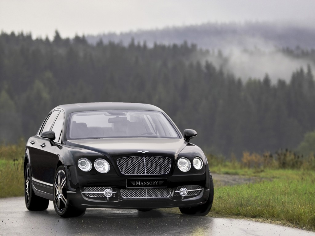 BENTLEY CONTINENTAL FLYING SPUR brown