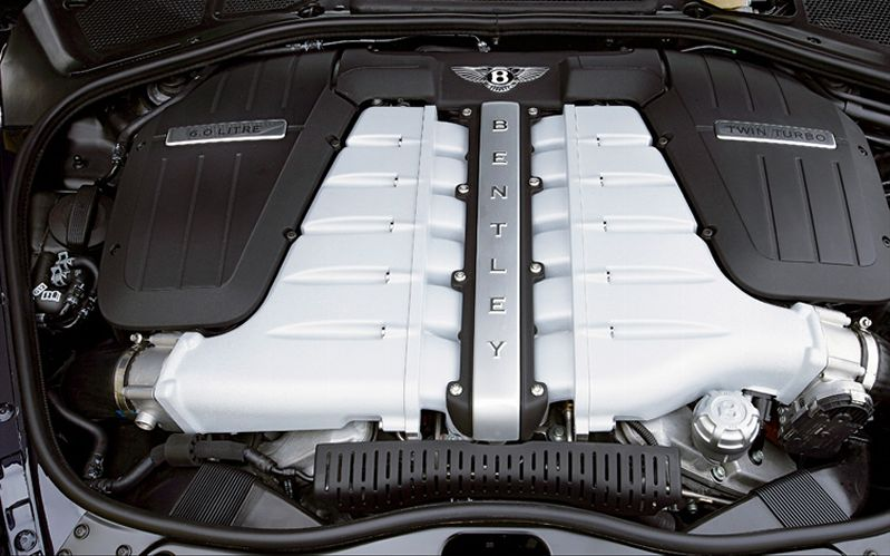 BENTLEY CONTINENTAL FLYING SPUR engine