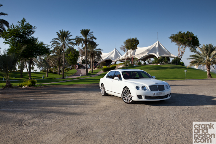 BENTLEY CONTINENTAL FLYING SPUR red