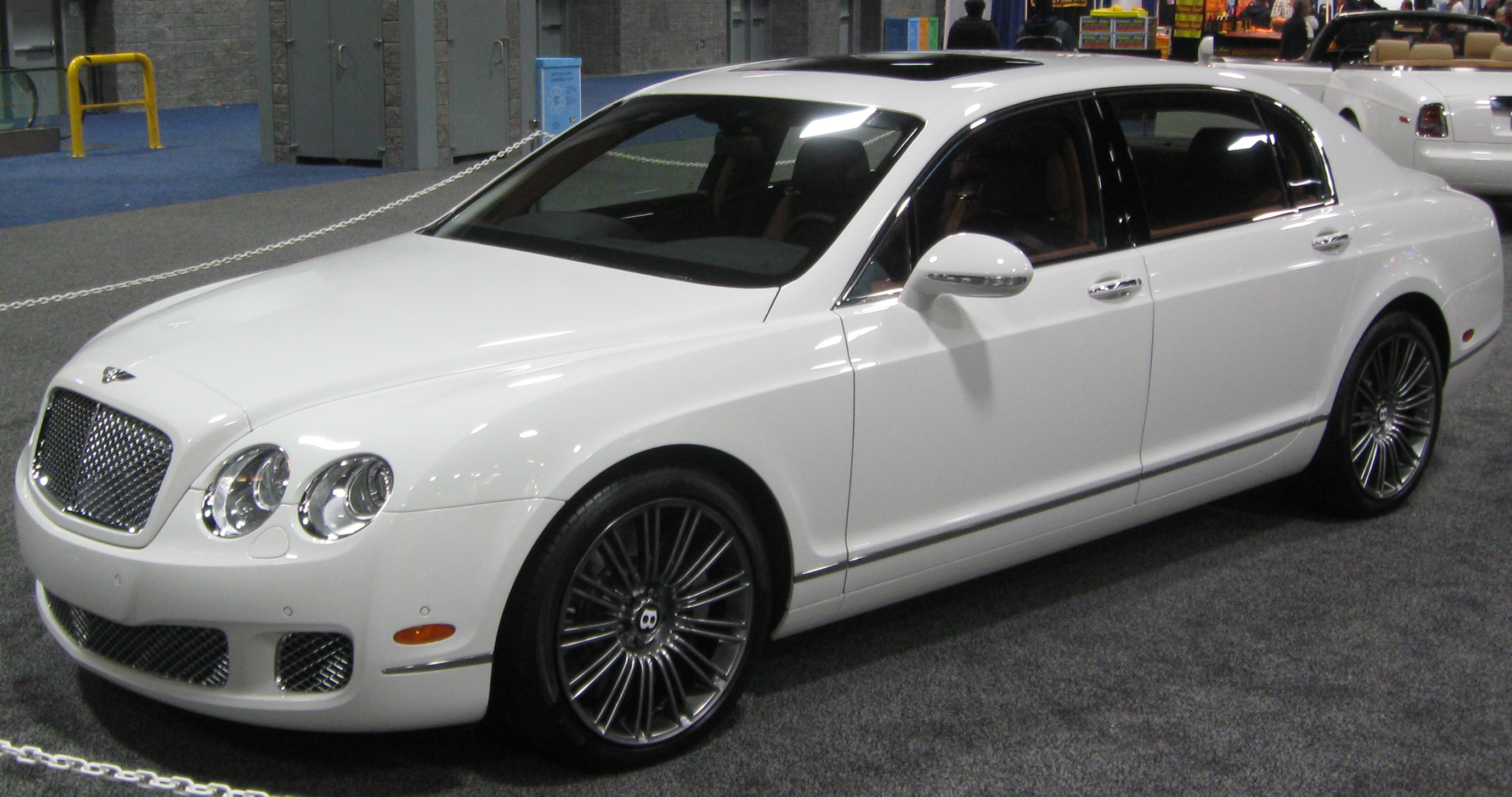 Bentley continental flying spur review and photos bentley continental flying spur white vanachro Choice Image