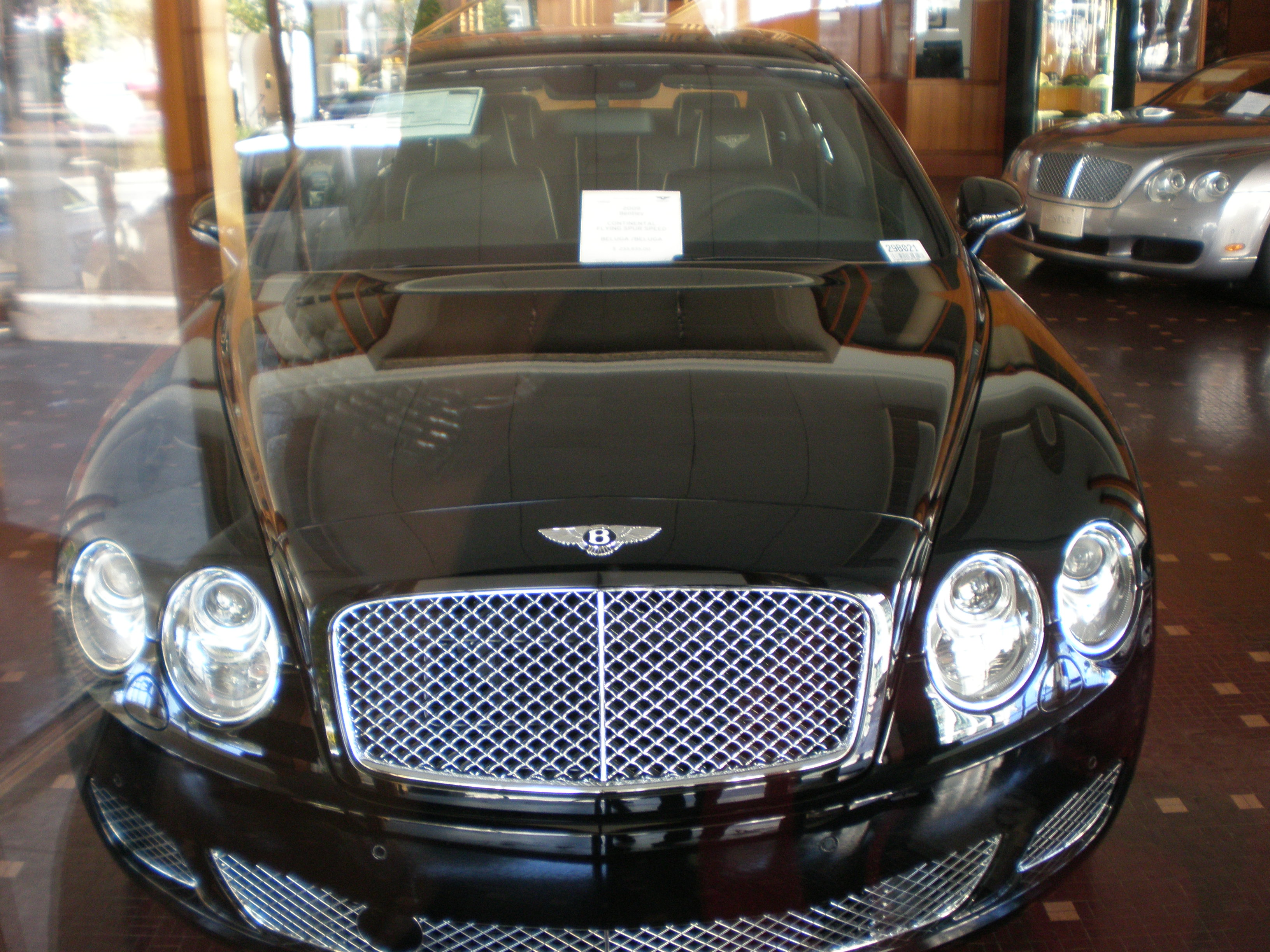 BENTLEY CONTINENTAL FLYING black
