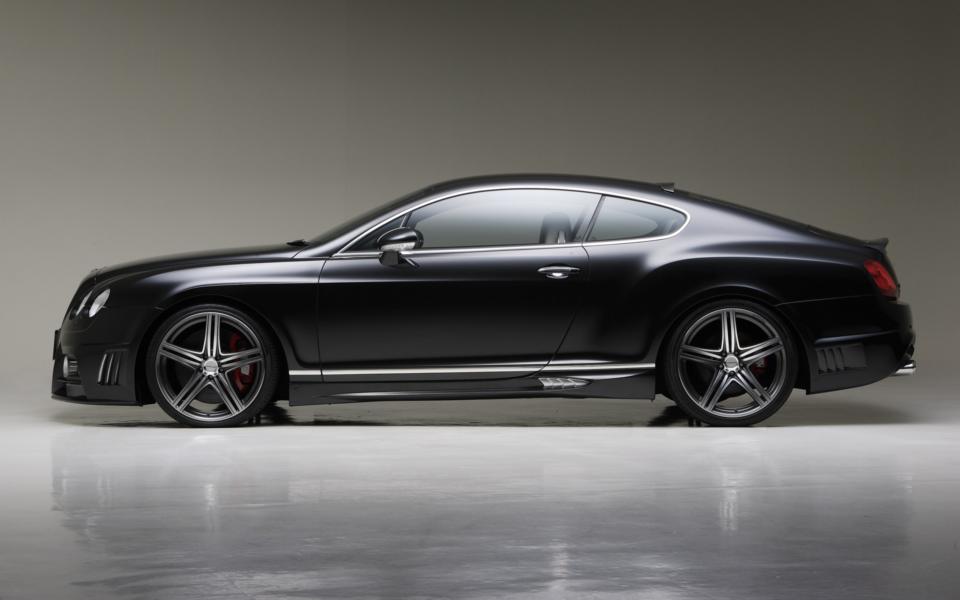 BENTLEY CONTINENTAL GT COUPE black
