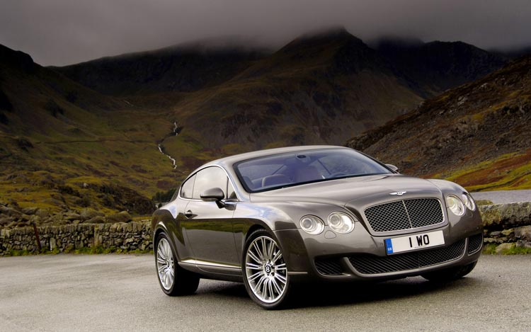 BENTLEY CONTINENTAL GT COUPE interior