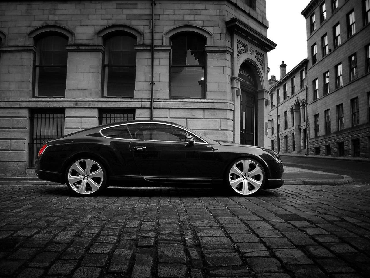 BENTLEY CONTINENTAL GT black