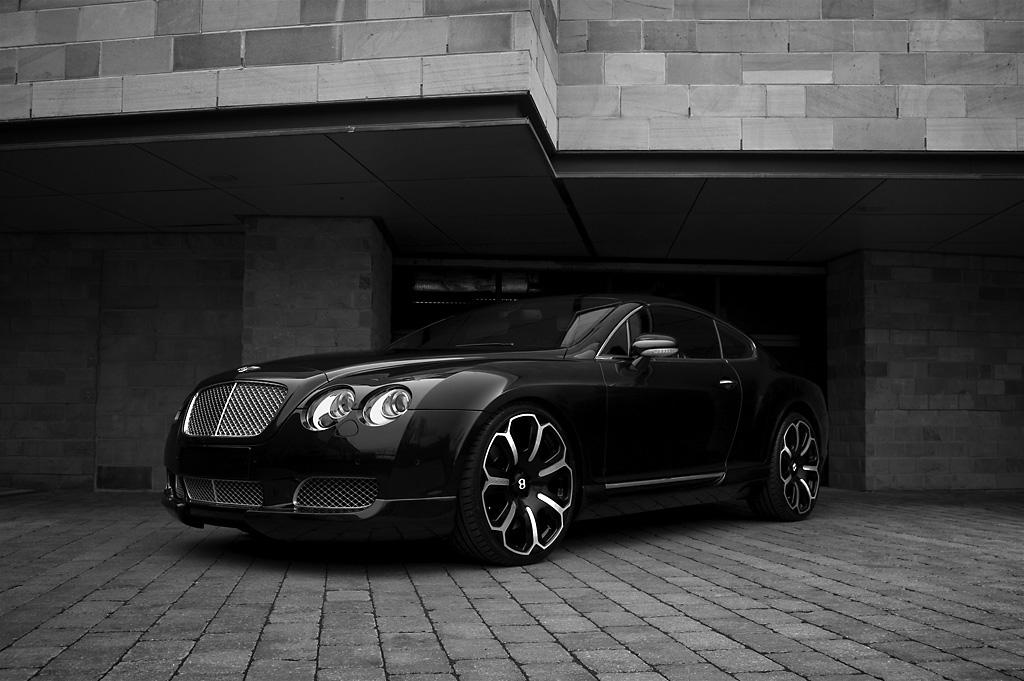 BENTLEY CONTINENTAL GT black