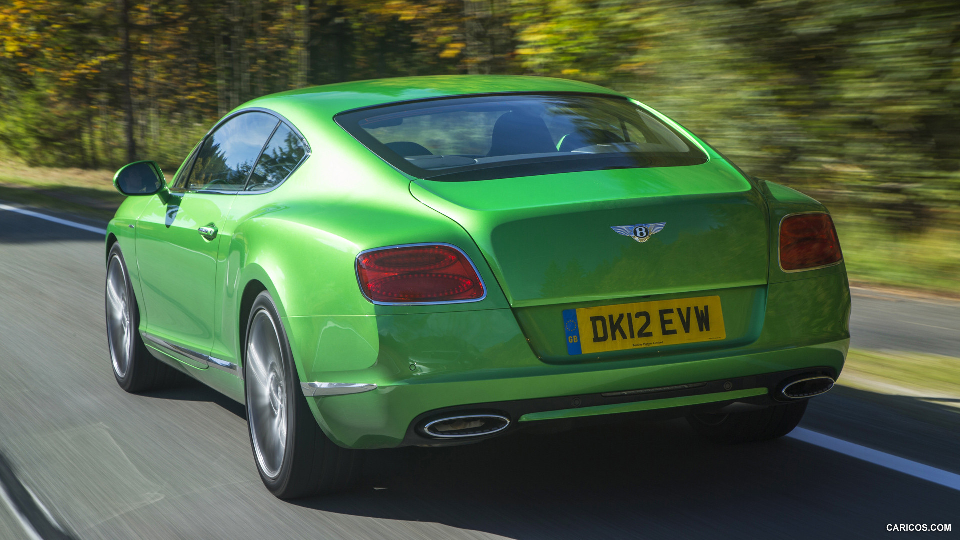 BENTLEY CONTINENTAL GT green