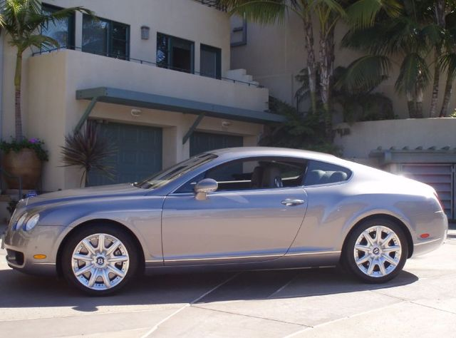 BENTLEY CONTINENTAL GT silver