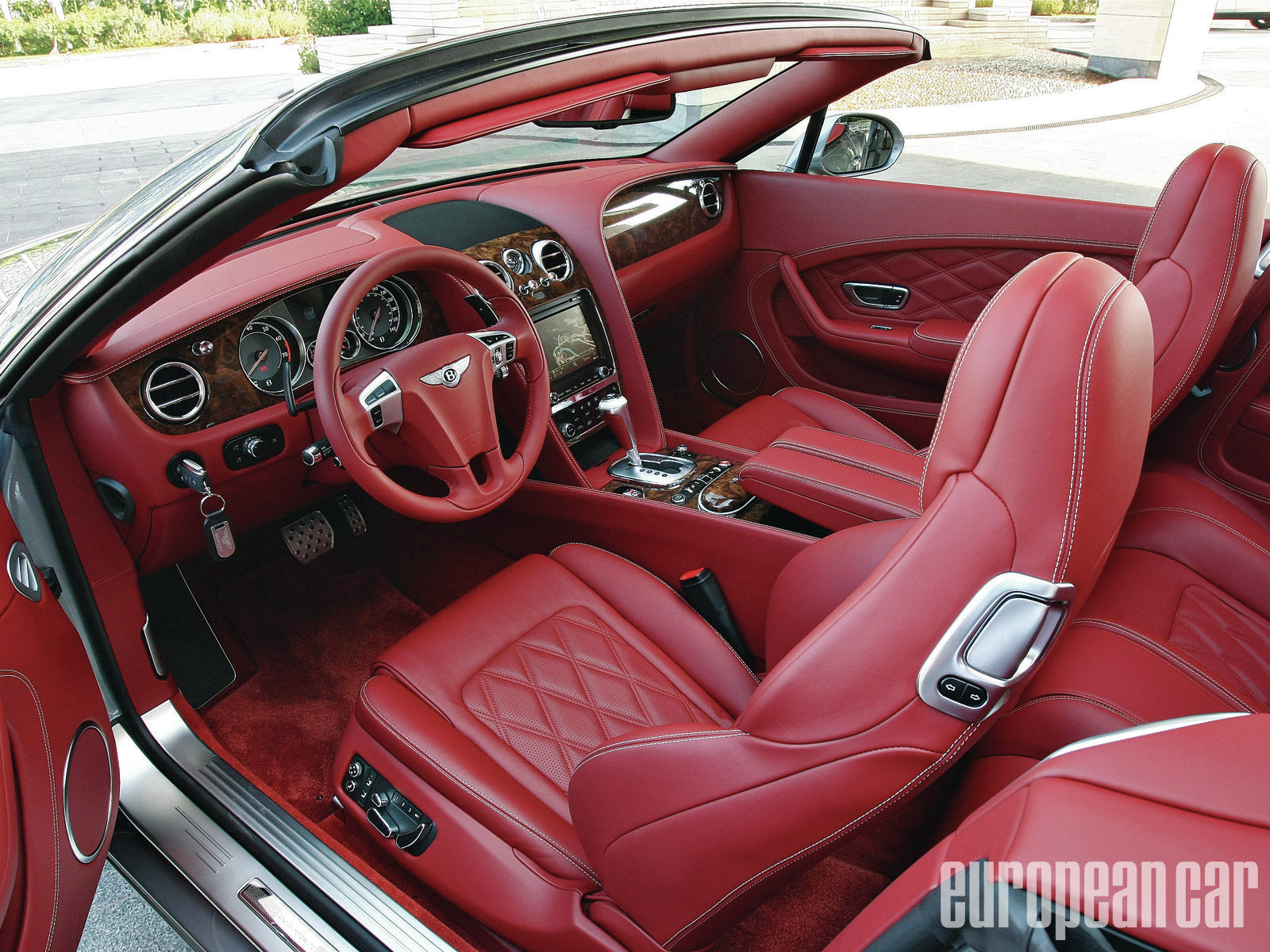 BENTLEY CONTINENTAL red