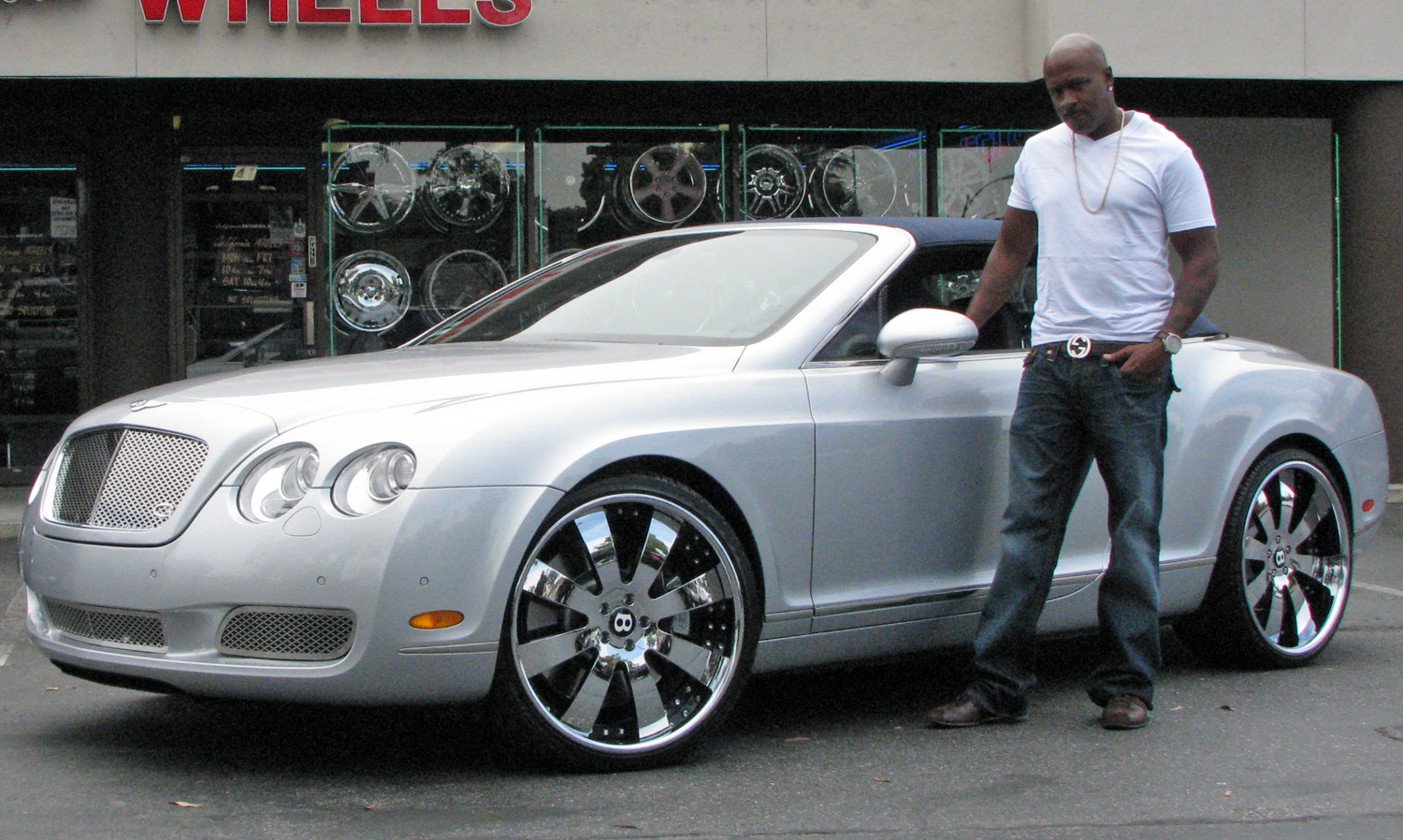 BENTLEY CONTINENTAL silver