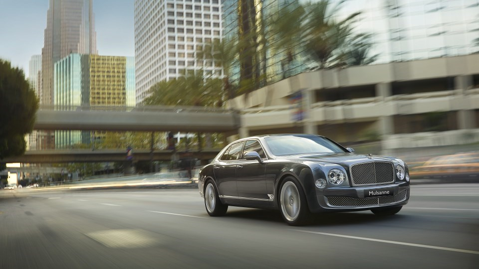 bentley wallpaper (Bentley Mulsanne)