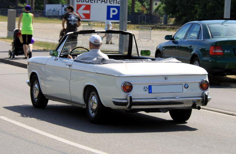 BMW 1600 CABRIOLET silver
