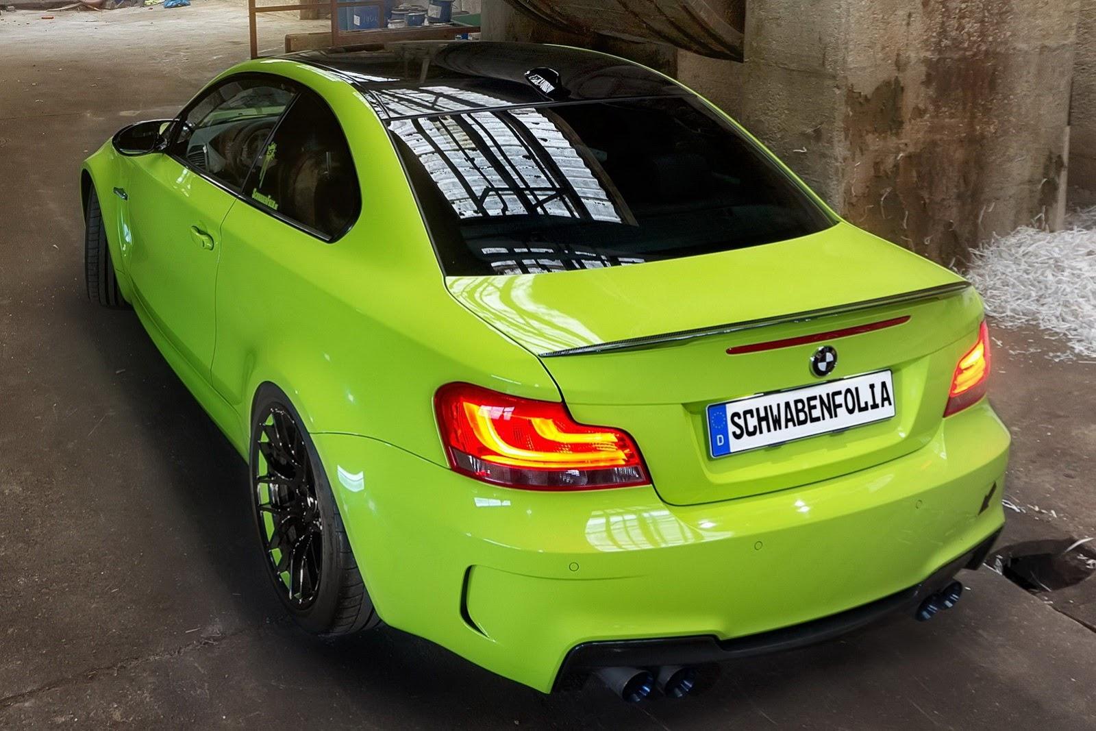 BMW 1 green