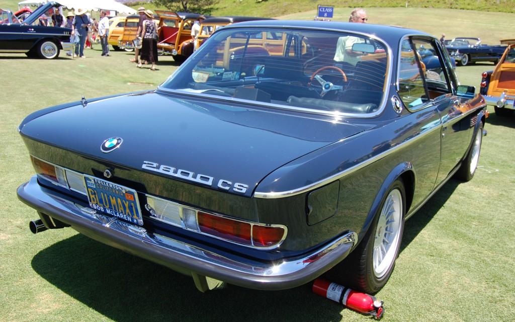 BMW 2800 blue