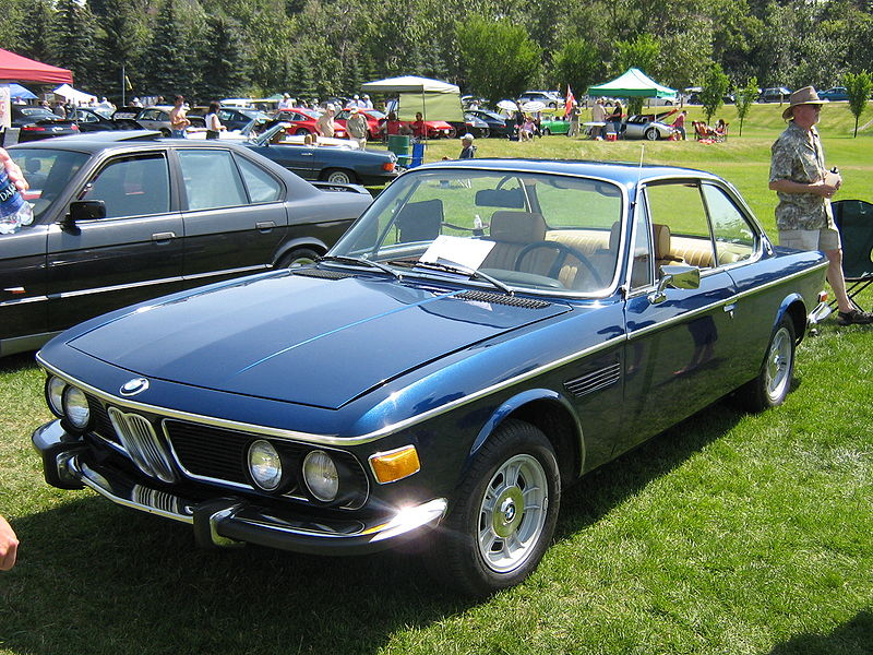 BMW 2800CS black