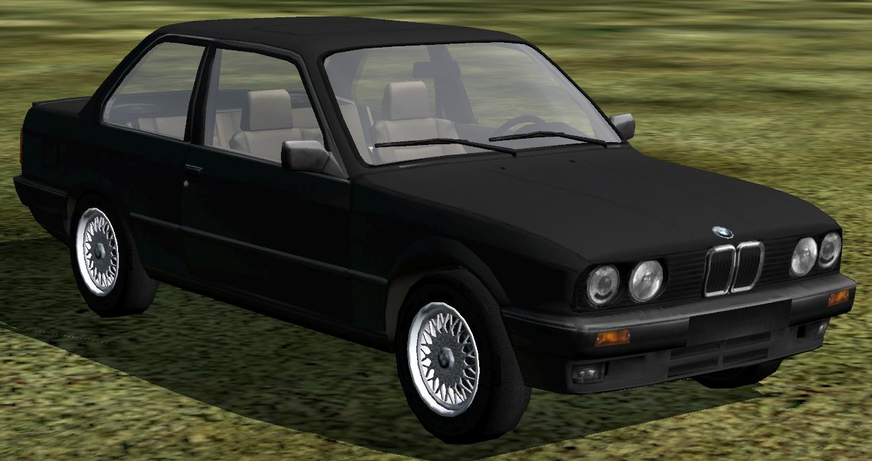 BMW 3 COMPACT black