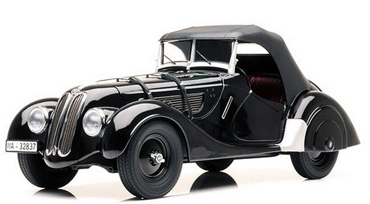 BMW 328 ROADSTER black