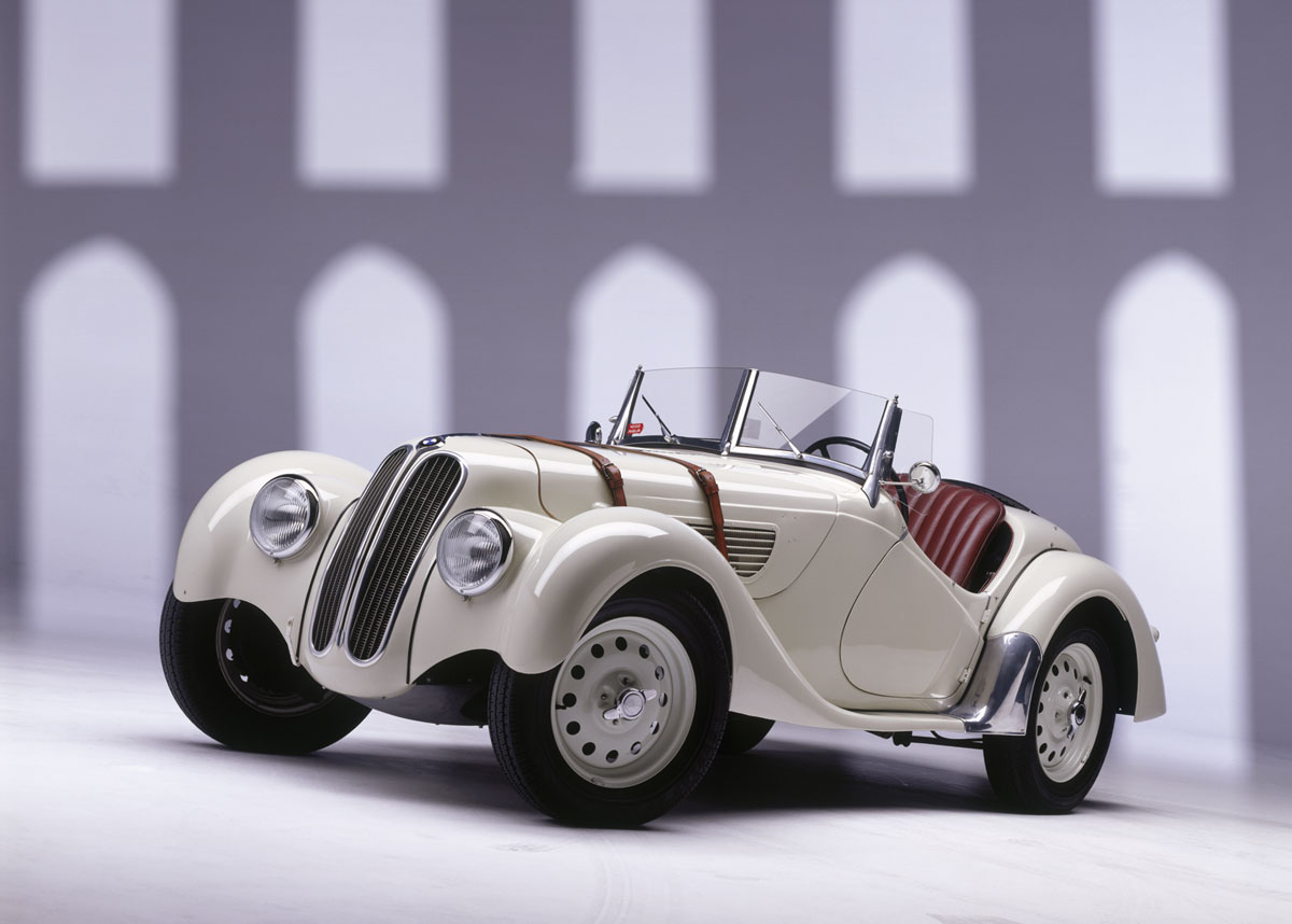 BMW 328 ROADSTER white