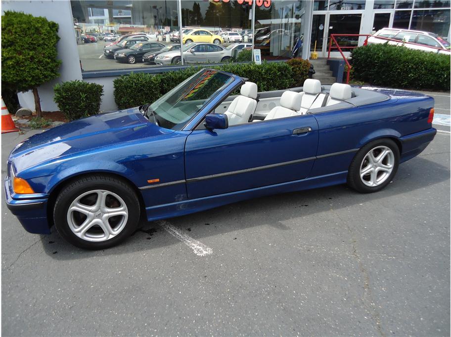 BMW 328 blue