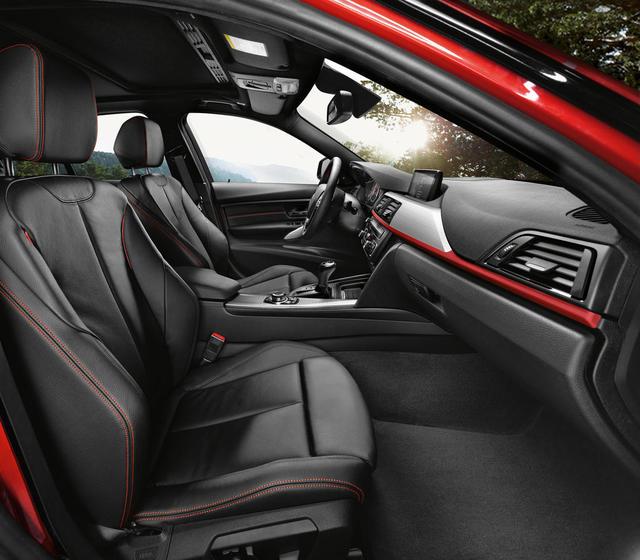 BMW 328 interior