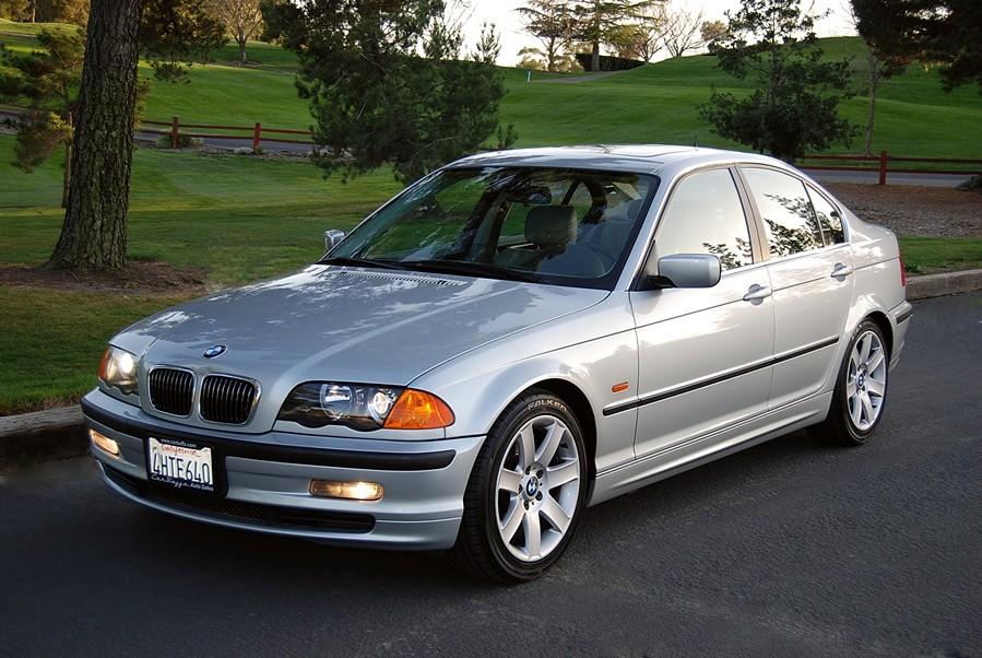 BMW 328 silver