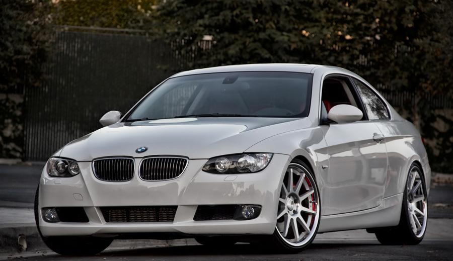 BMW 335 silver