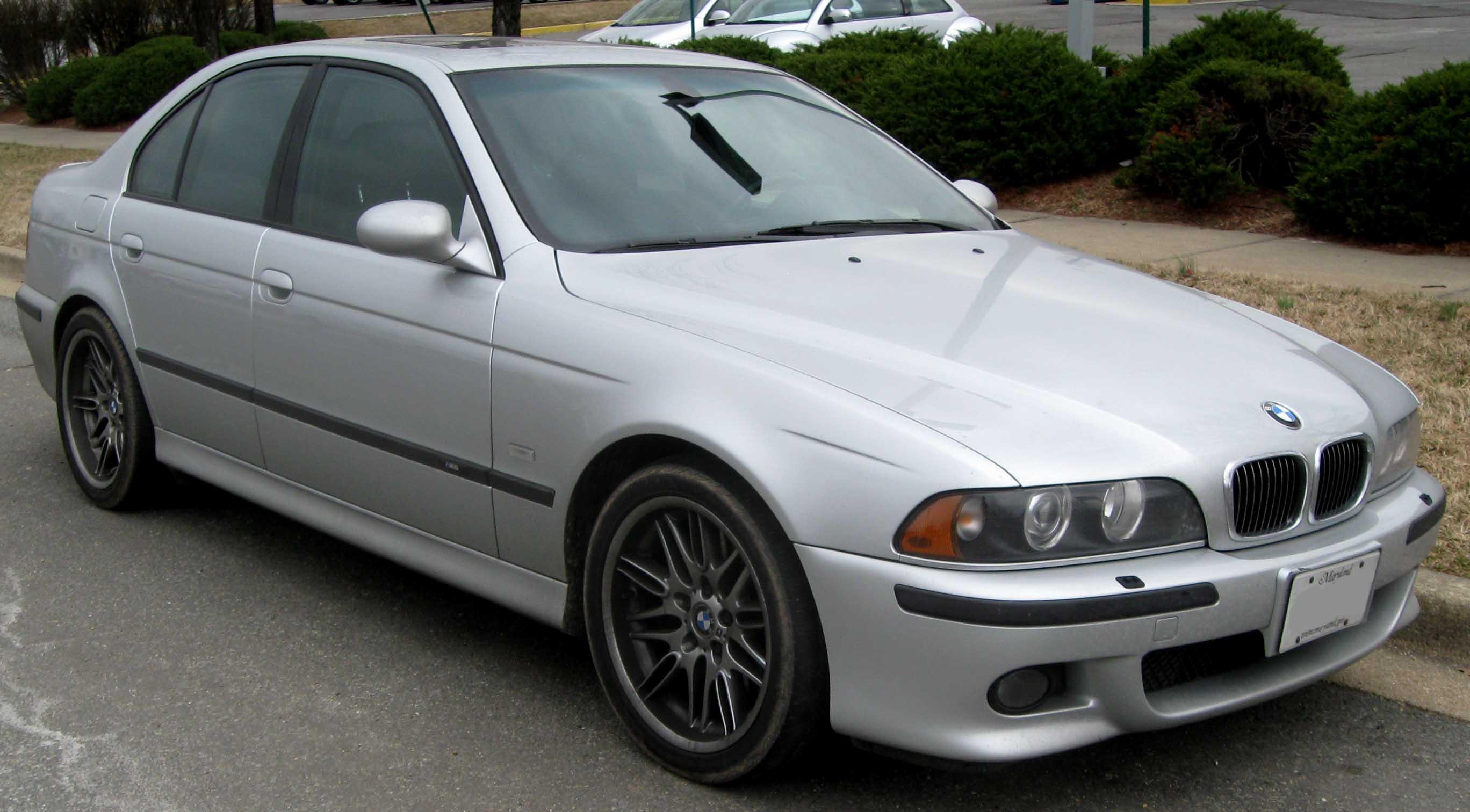 BMW 5 M5 silver