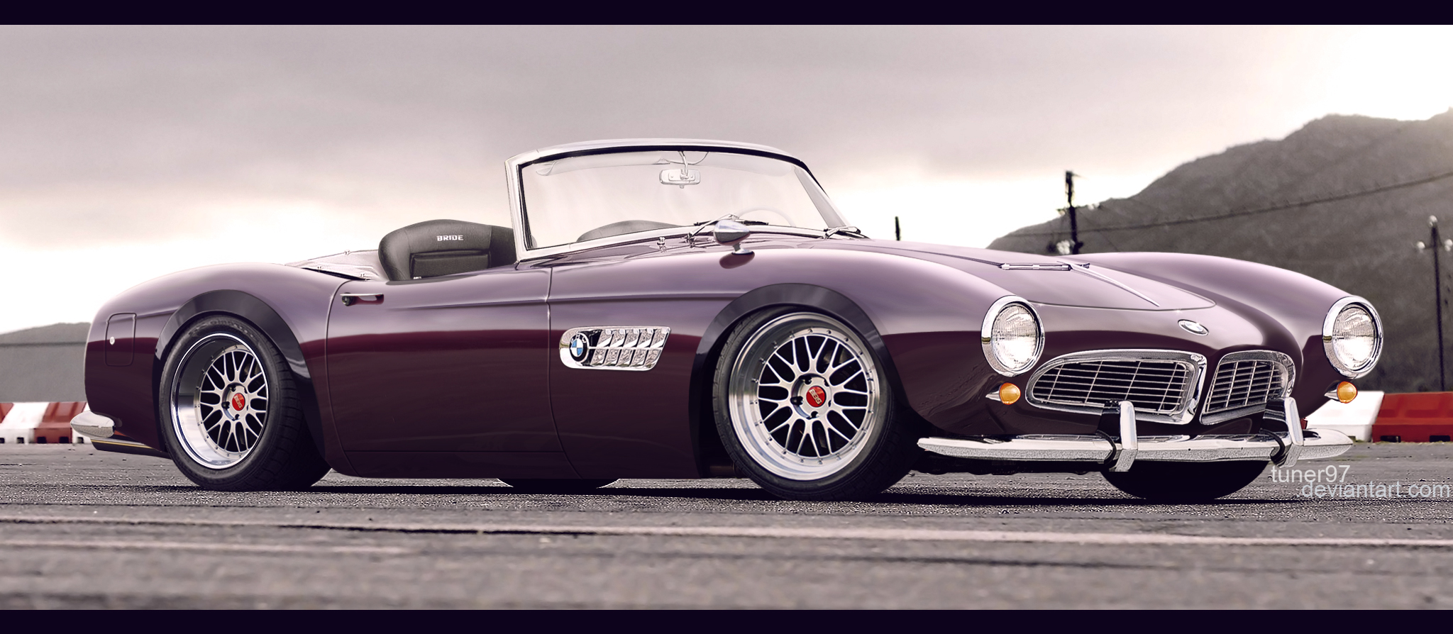 BMW 507 brown