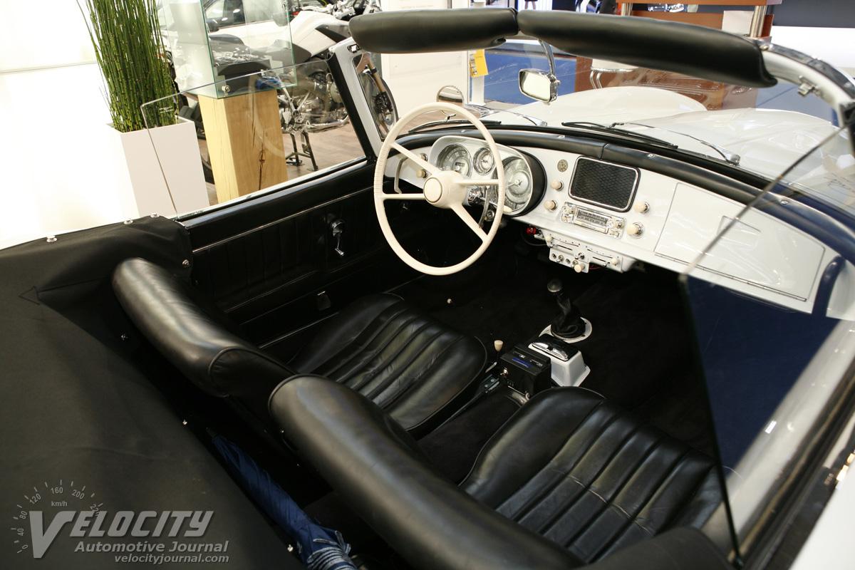 BMW 507 interior