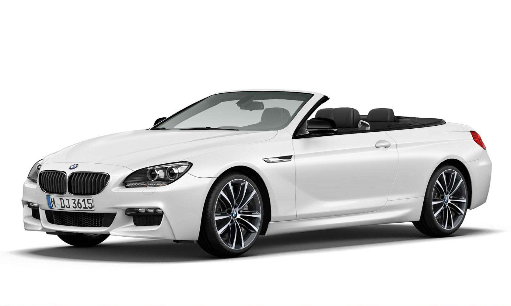 BMW 6 CABRIOLET white