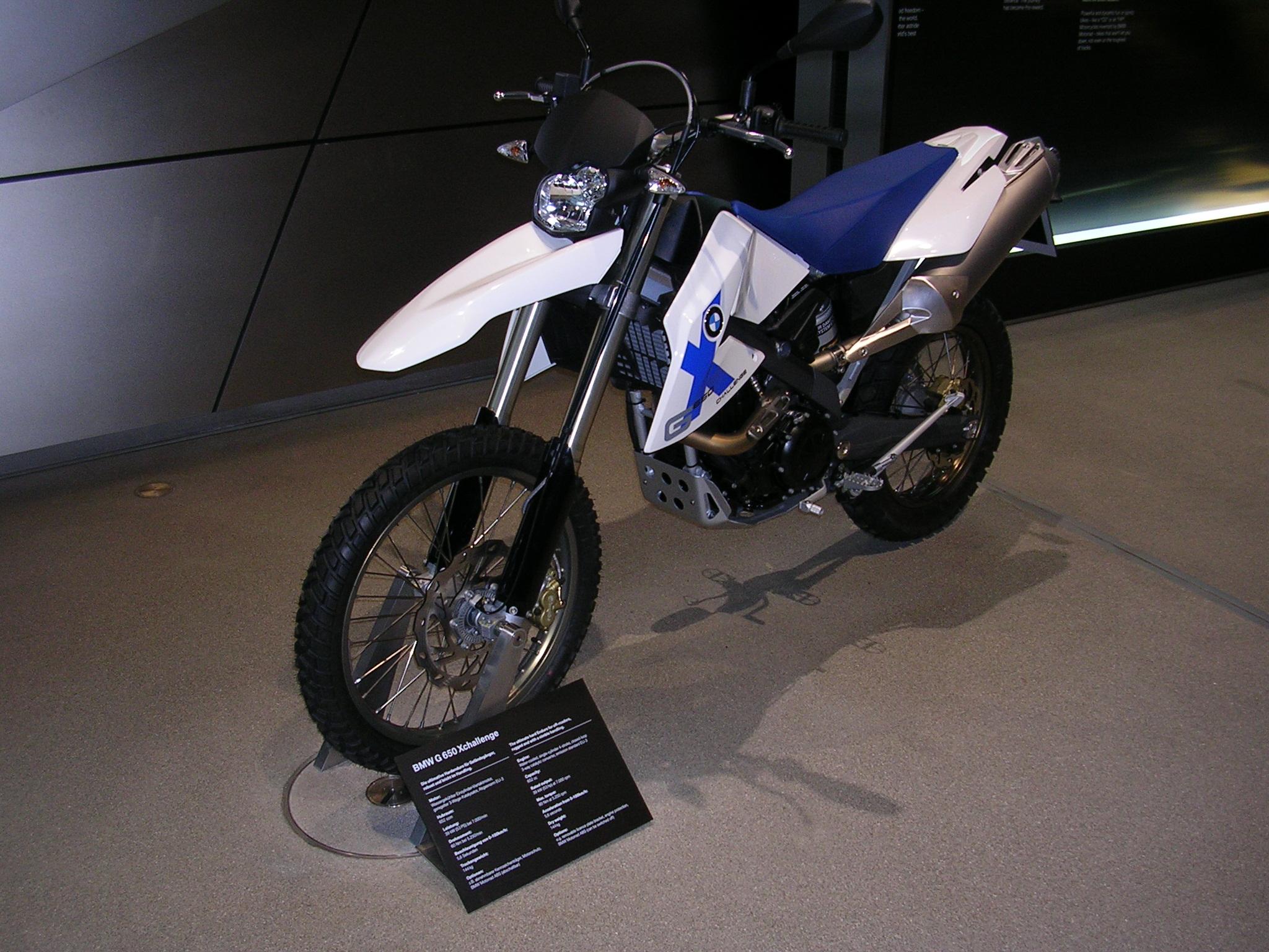 BMW 650 XCHALLENGE