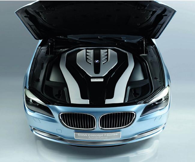 BMW 7 HYBRID green