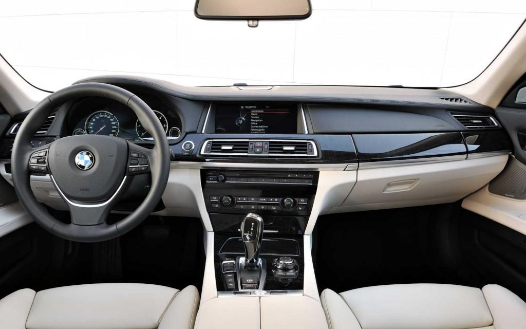 BMW 7 HYBRID interior