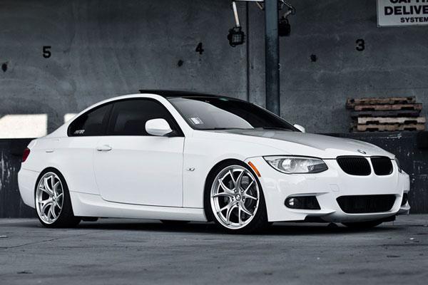 BMW 8 silver