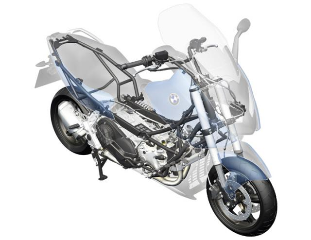 BMW C 650 GT engine