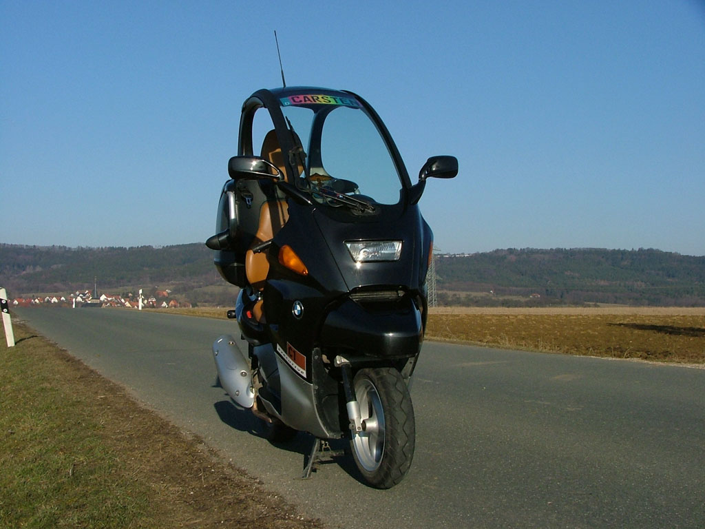 BMW C1 125 brown