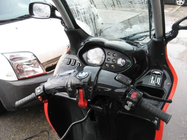 BMW C1 125 interior