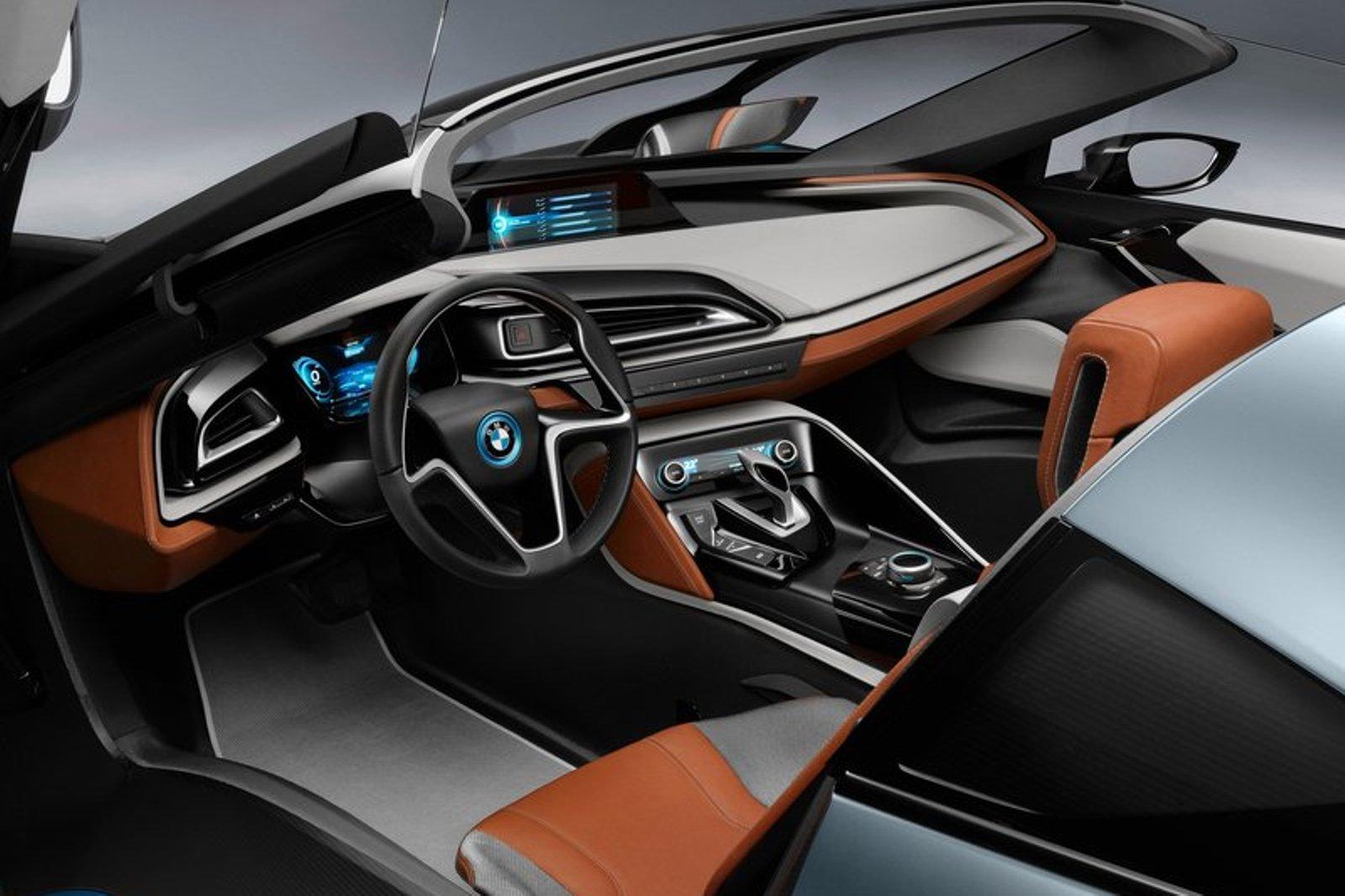 BMW C1 interior