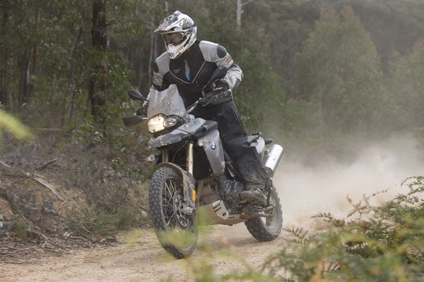 BMW F 800 GS brown