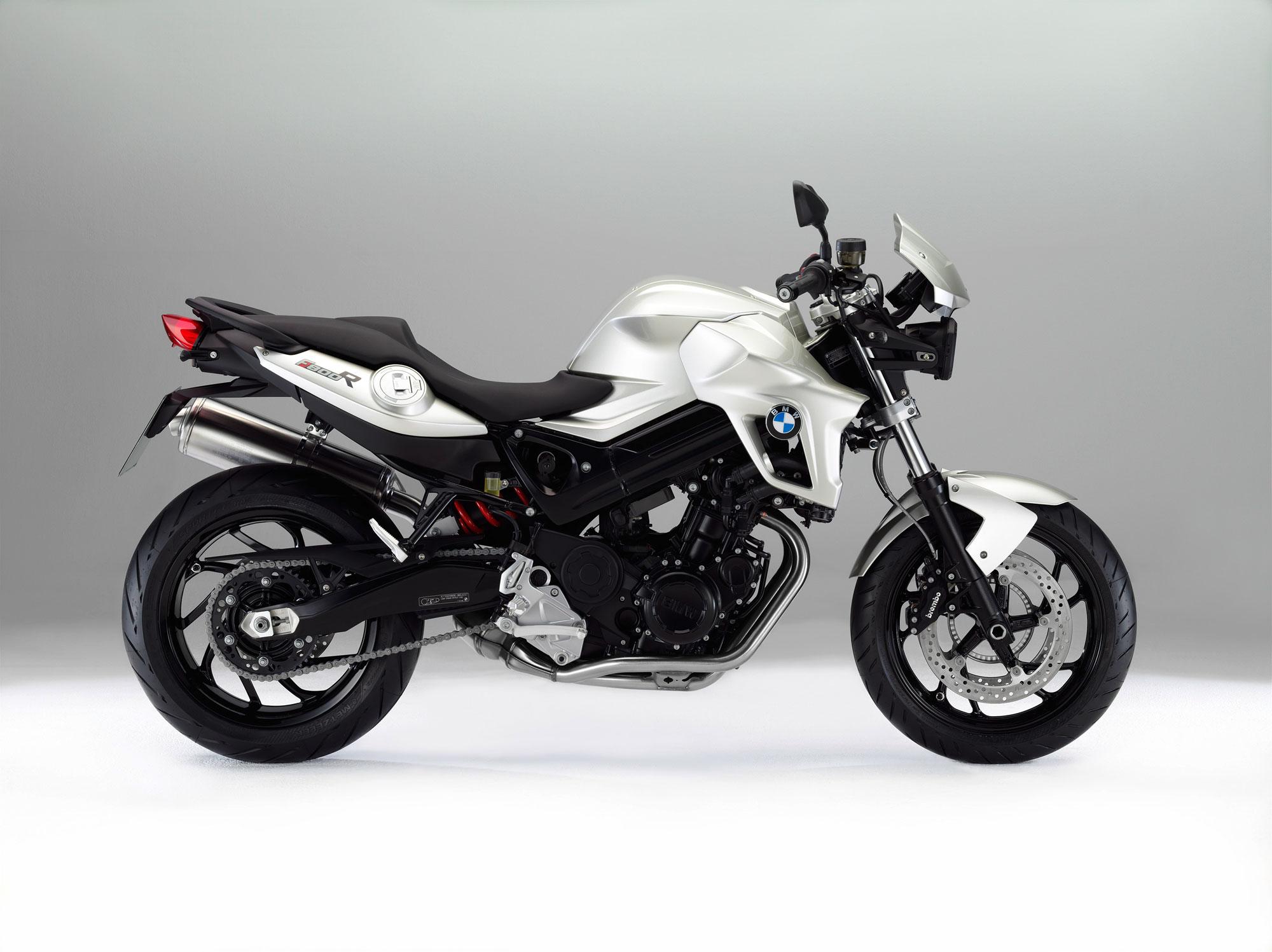 BMW F 800 R white