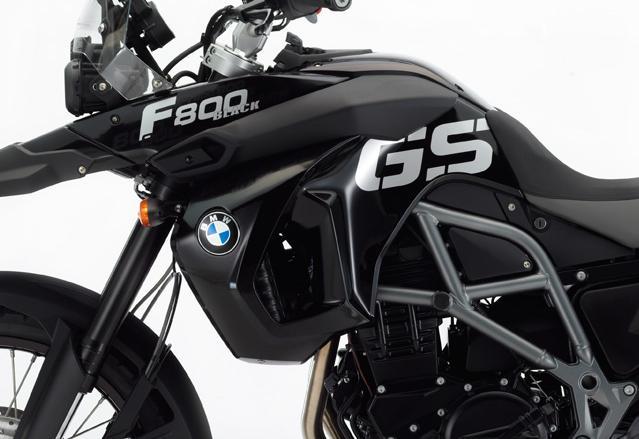 BMW F 800 black