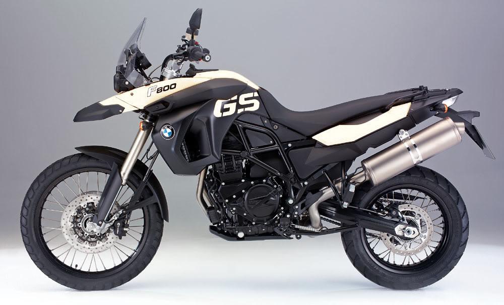 BMW F 800 brown