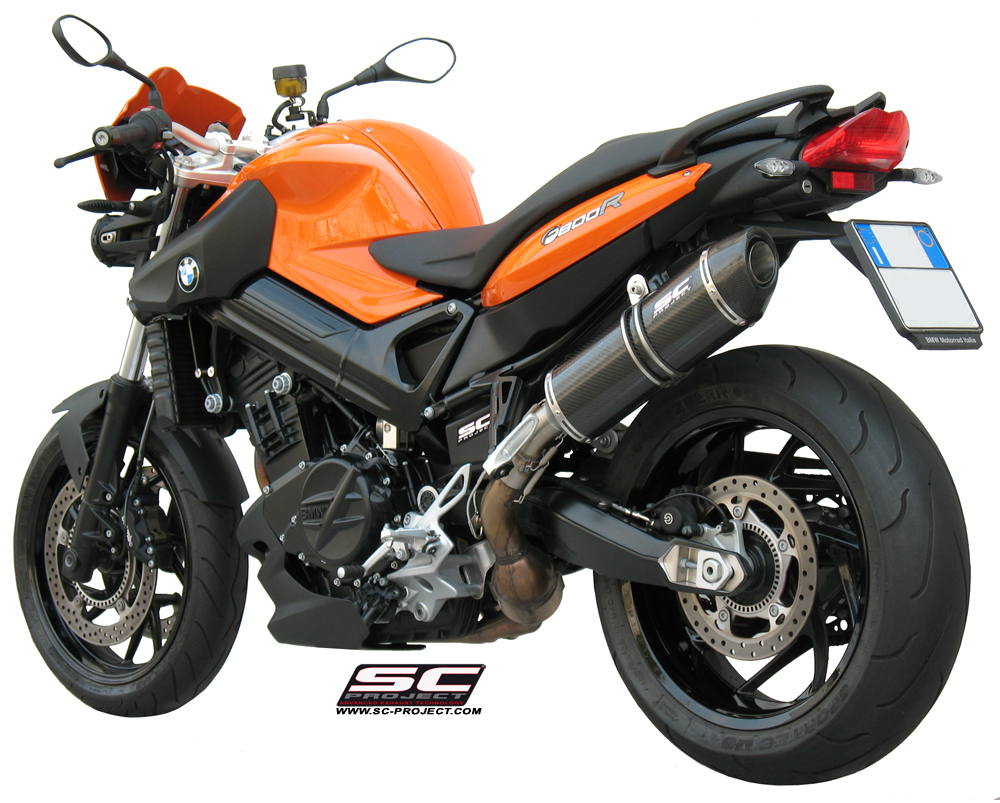 BMW F800S brown