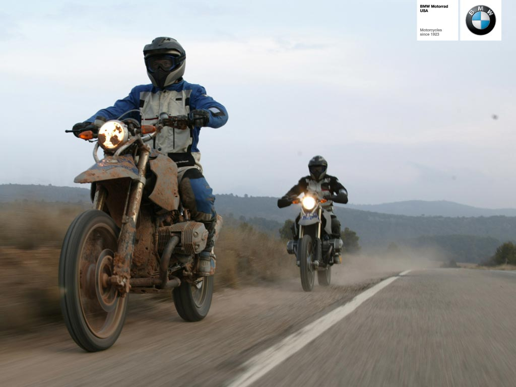 BMW HP2 ENDURO blue