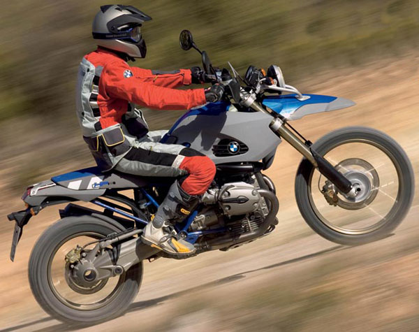 BMW HP2 ENDURO red