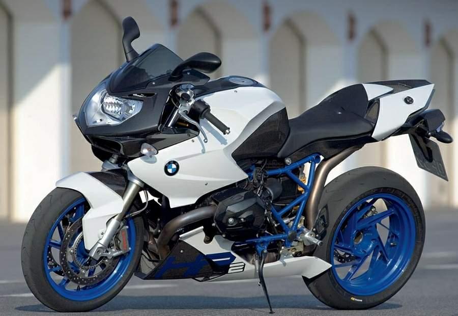 BMW HP2 silver